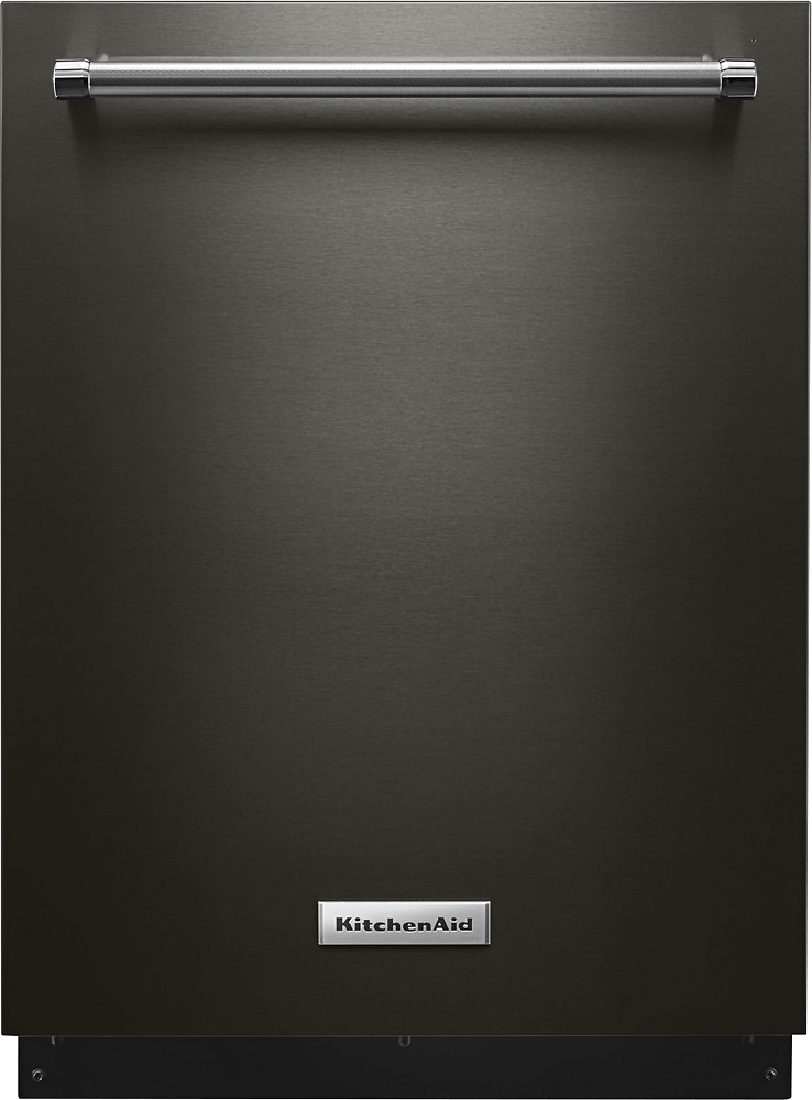 KitchenAid Black Stainless Steel Appliances