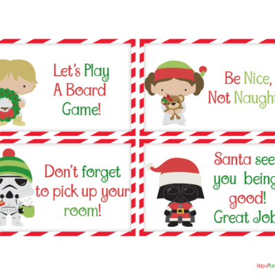 Free Printable Elf Notes from Santa