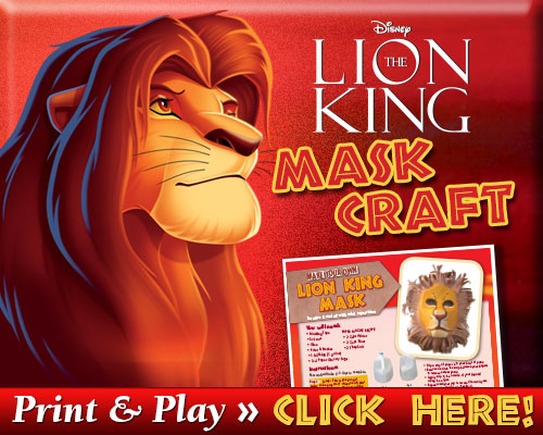 Lion King Mask Craft