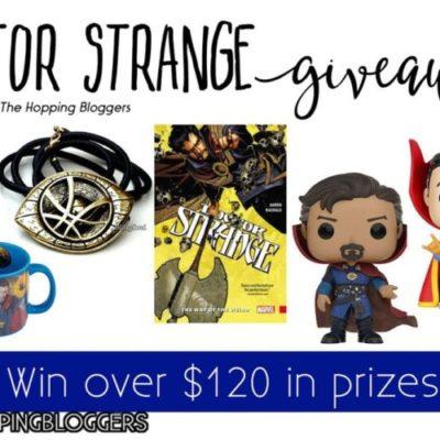 MARVEL Doctor Strange Movie Giveaway!