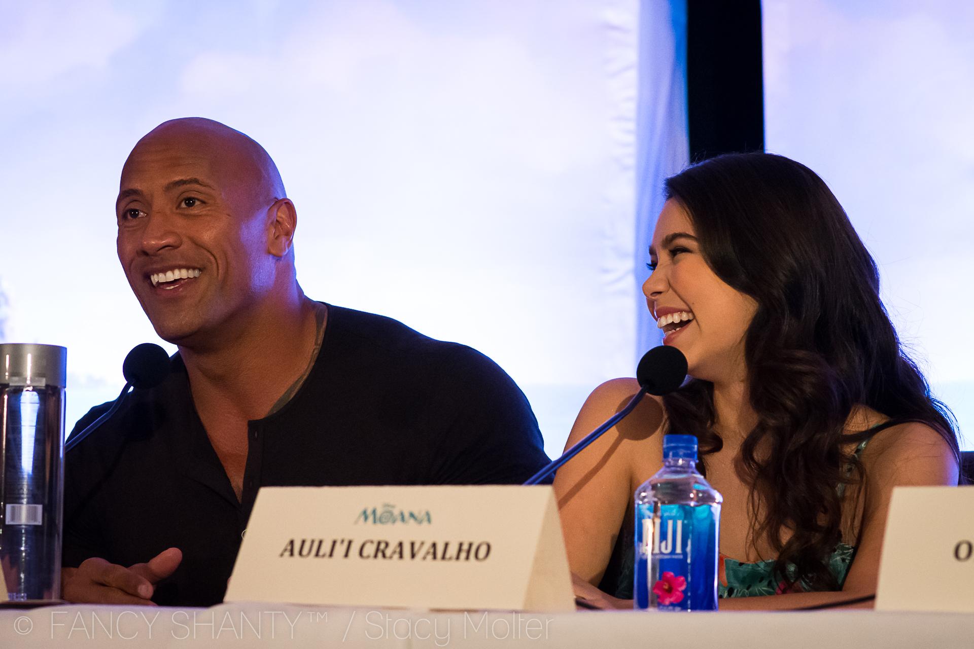 Moana Cast Interviews