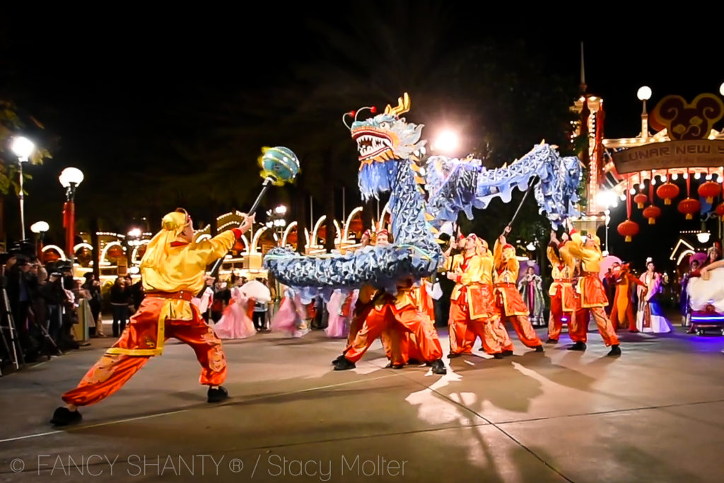 Disneyland Resort Lunar New Year Celebration 2017