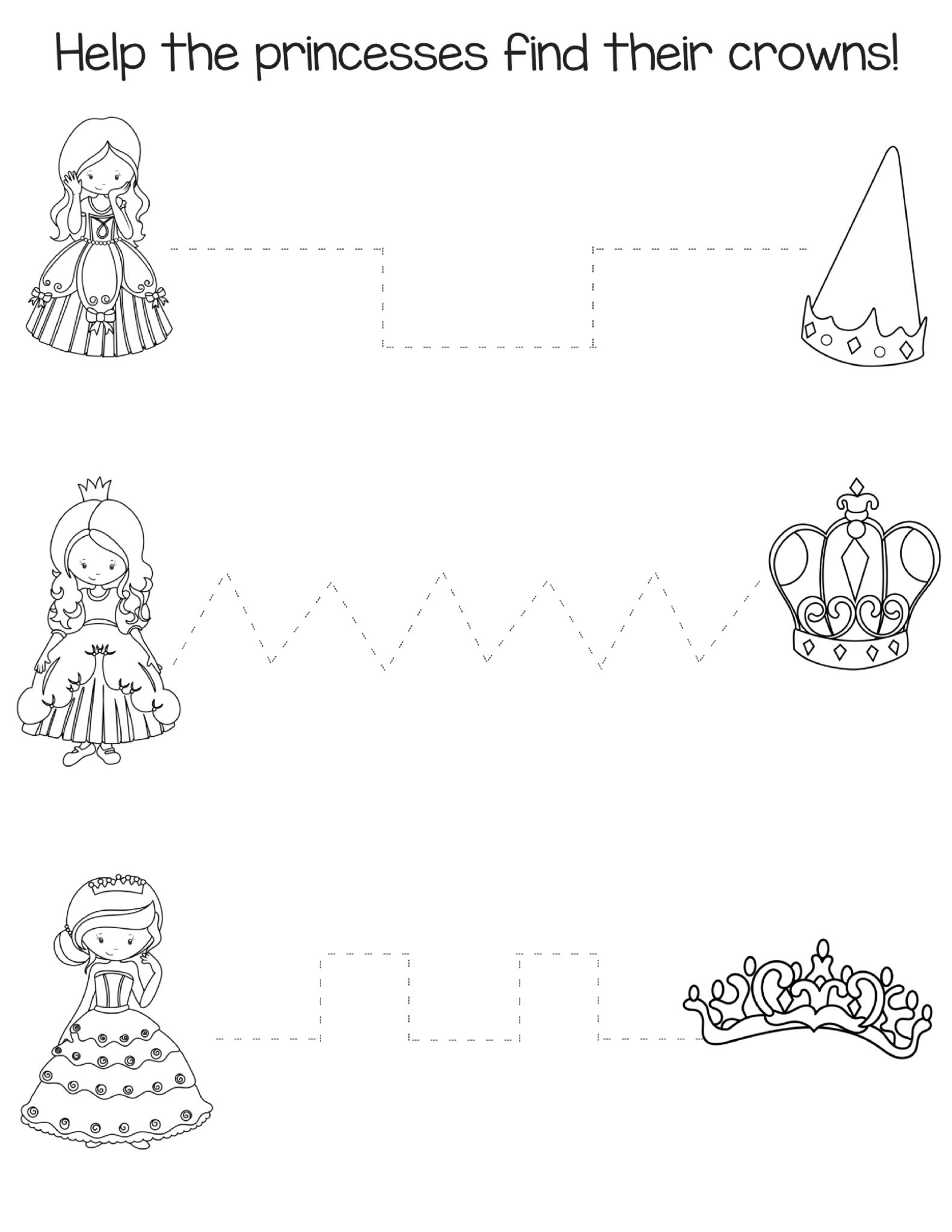 Big Preschool Workbook Download - For Girls