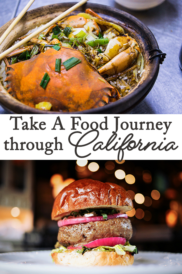 California has some amazing foodie options and even if you are a novice foodie you will find something to love as you take a food journey through California.