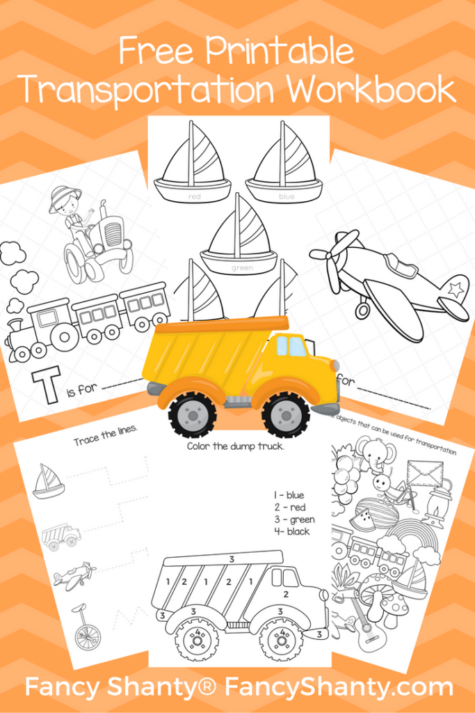 Free Big Preschool Workbook Download - For Boys
