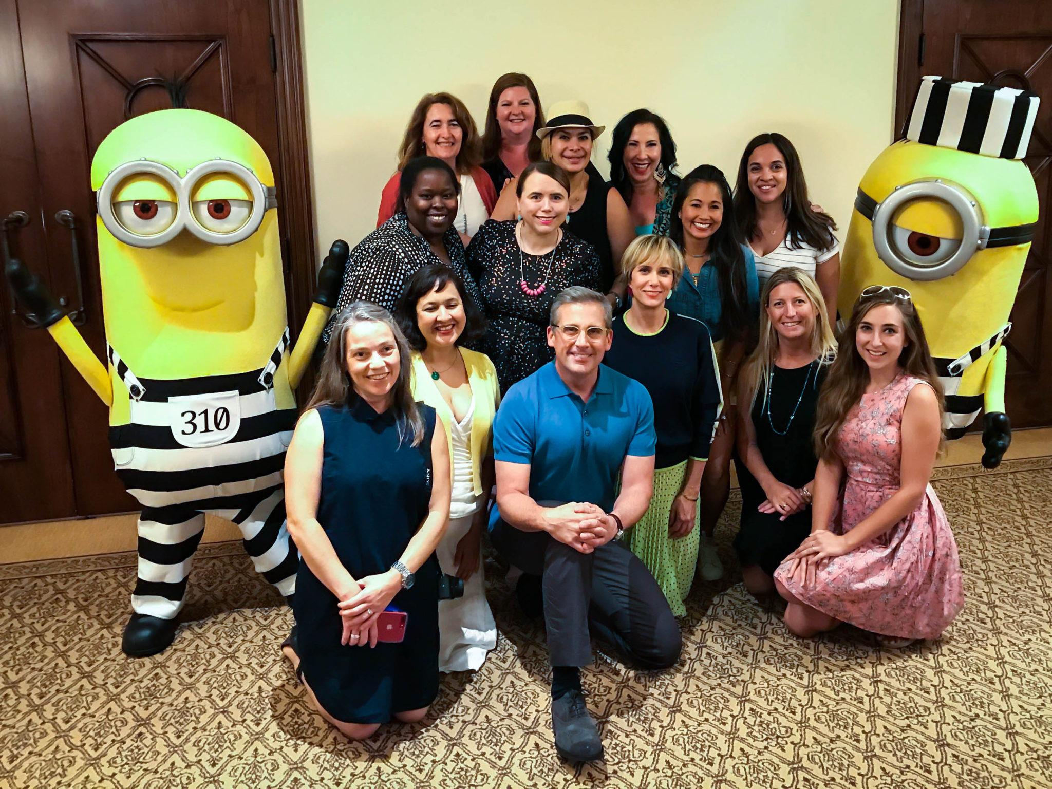 Despicable Me 3 Cast Interviews – Steve Carell, Kristen Wiig, and Pharrell Williams