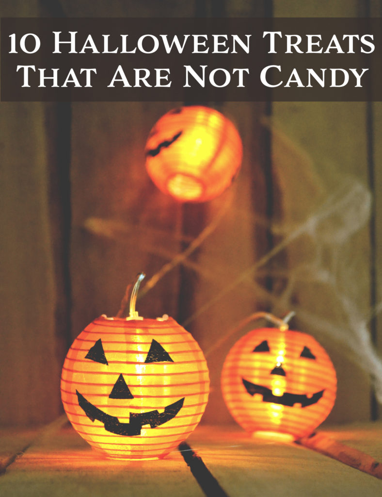 10 Halloween Treats that are Not Candy