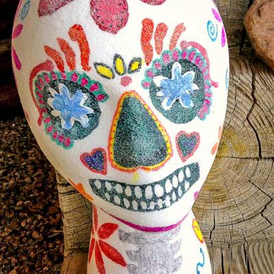 Dia de los Muertos Sugar Skull