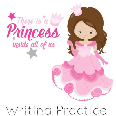 Free Printable 100 Sight Words List – Princesses