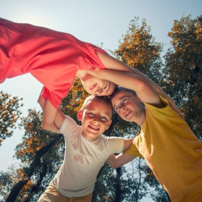 Easy Ways to Exercise with Your Homeschool Child