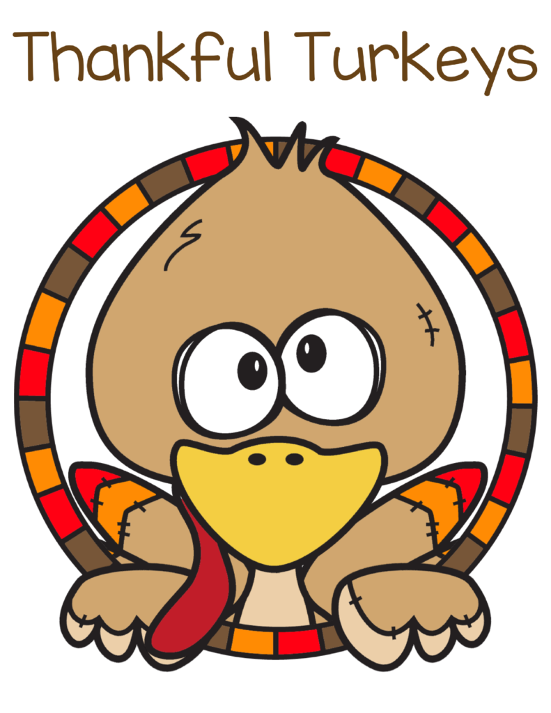Thankful Turkeys - Free Thanksgiving Printables