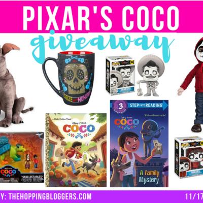 Disney Pixar Coco's Toy Giveaway