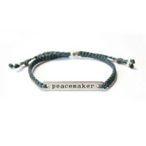 Peacemaker Bracelet - Pewter
