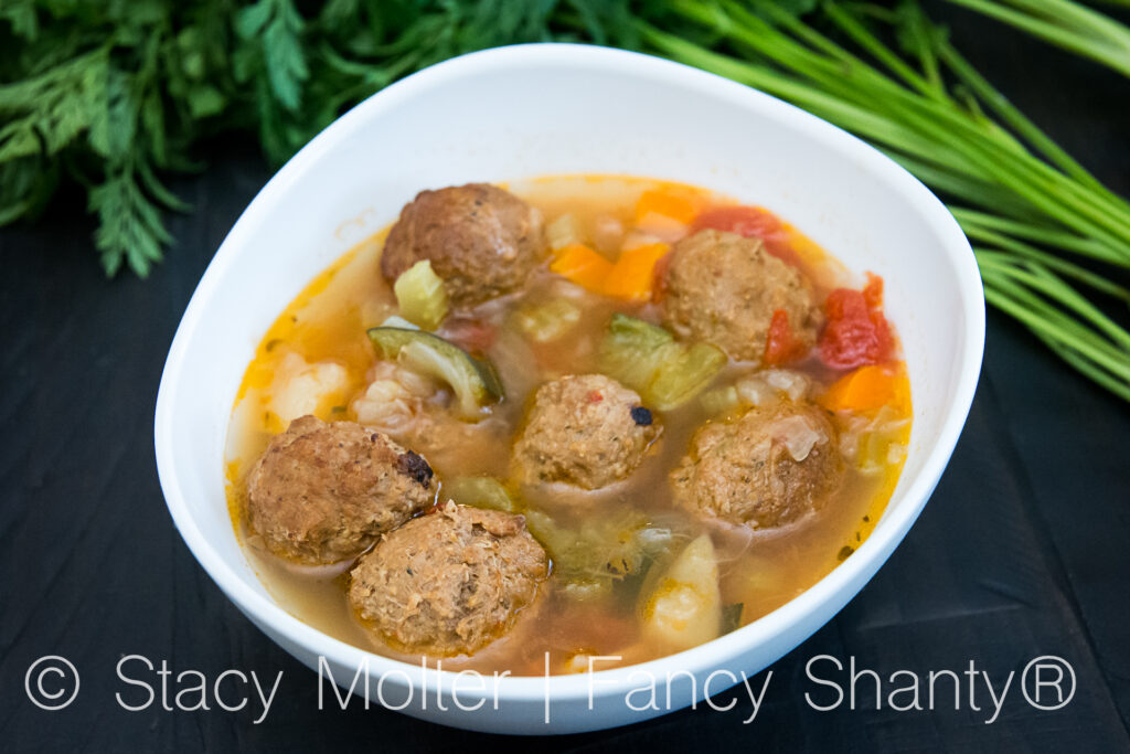Instant Pot Albóndigas Recipe - Mexican Meatball Soup