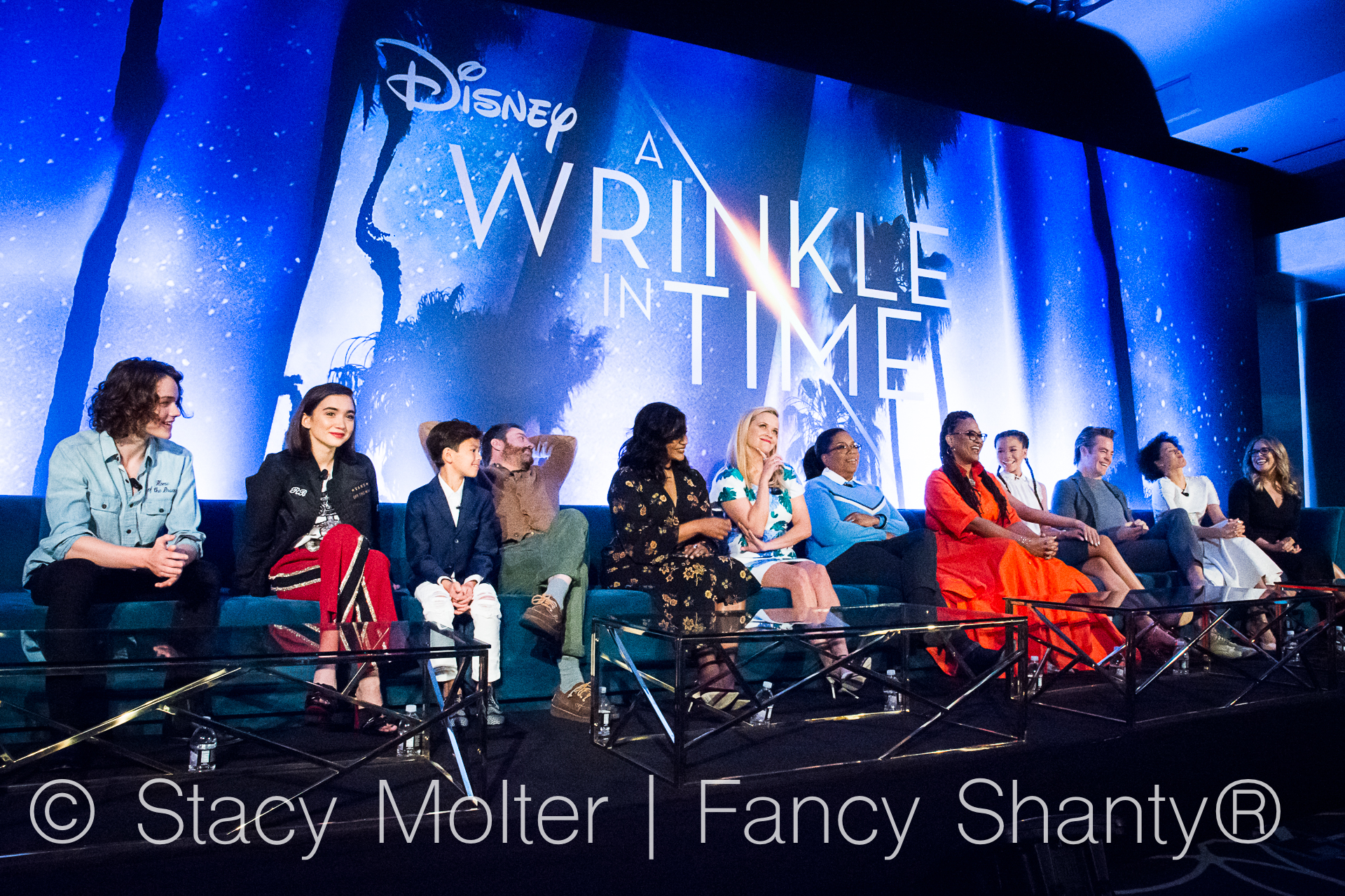Disney's A Wrinkle In Time Cast Interviews