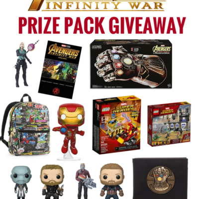 Win an Avengers Infinity War Characters Prize Pack
