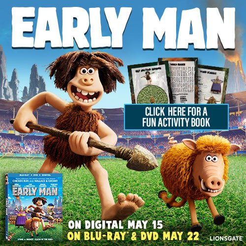 Early Man Free Printables