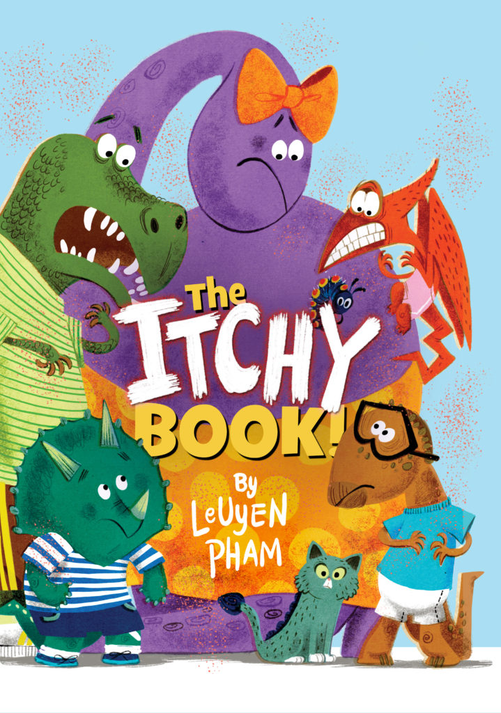 The Itchy Book Review & Giveaway