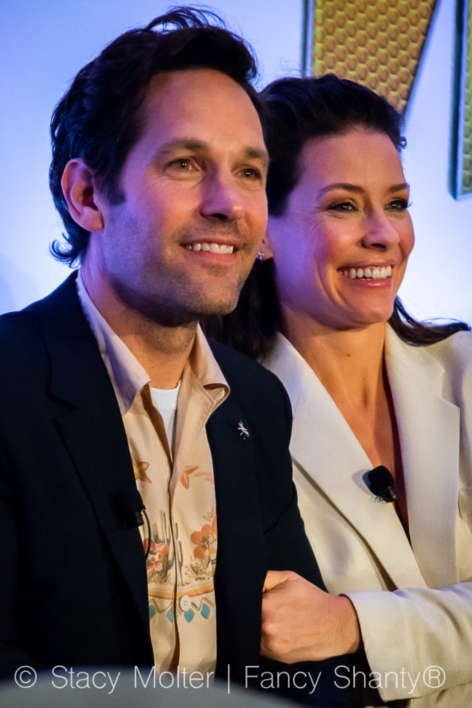 Evangeline Lilly's Message to Kids – Ant-Man and the Wasp Press Conference