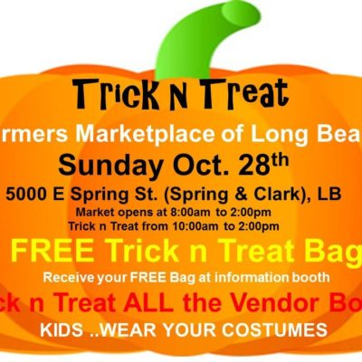Trick n Treat at Farmers Marketplace of Long Beach