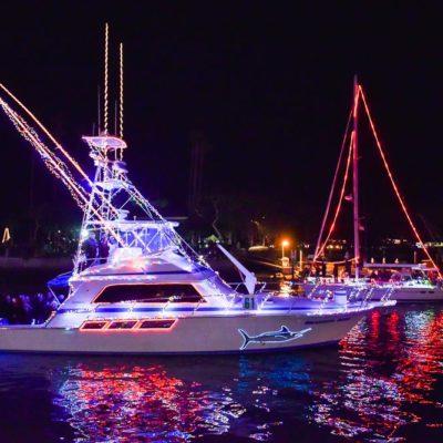 Dana Point Harbor Boat Parade of Lights – A Western Wonderland