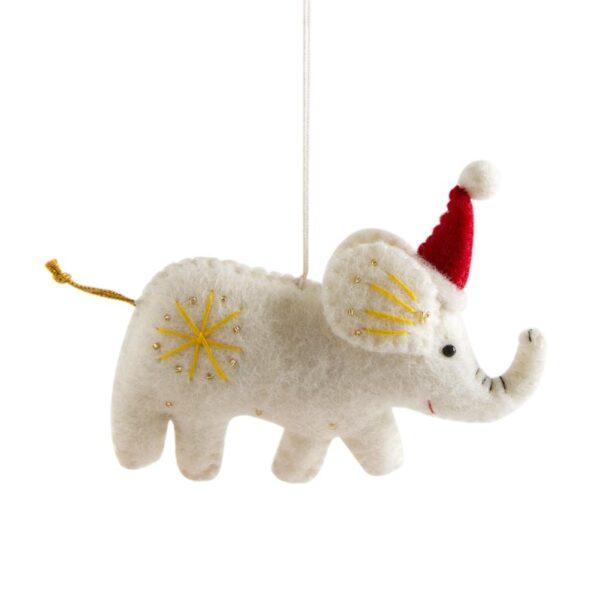 Embellished Felt Elephant