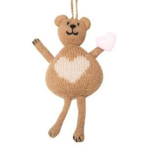 Alpaca Bear Ornament
