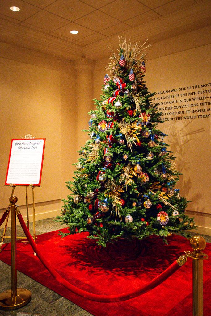Holiday Lights at the Reagan Library
