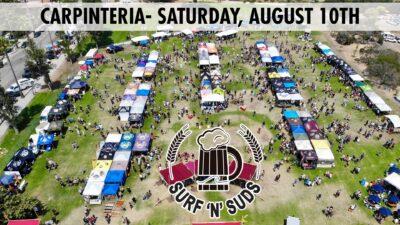 Carpinteria Surf 'n' Suds Beer Festival 2019