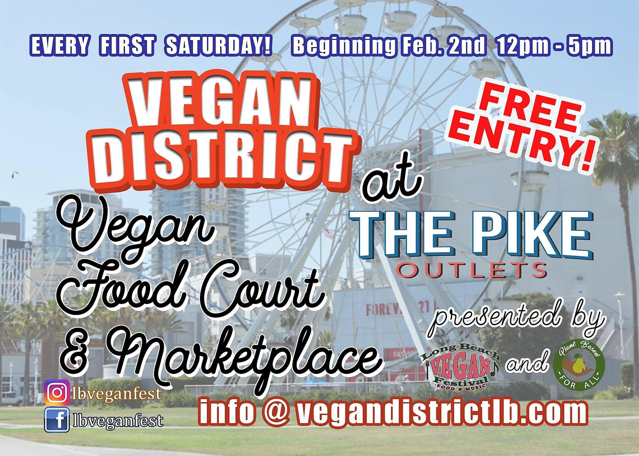 Vegan District at the Pike