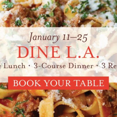Dine L.A. at Eataly