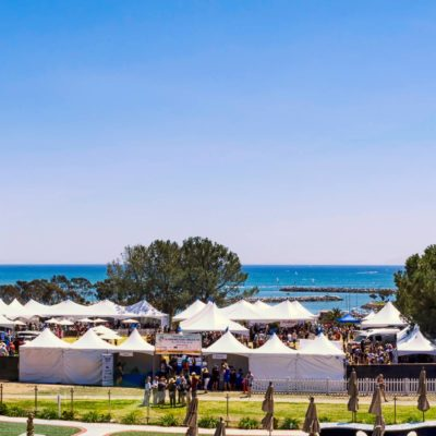 CA Wine Festival at Dana Point in Orange County