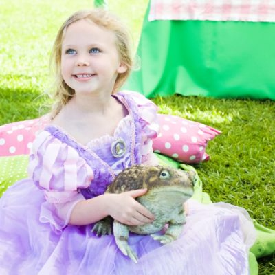 Princess Weekend at the Santa Barbara Zoo