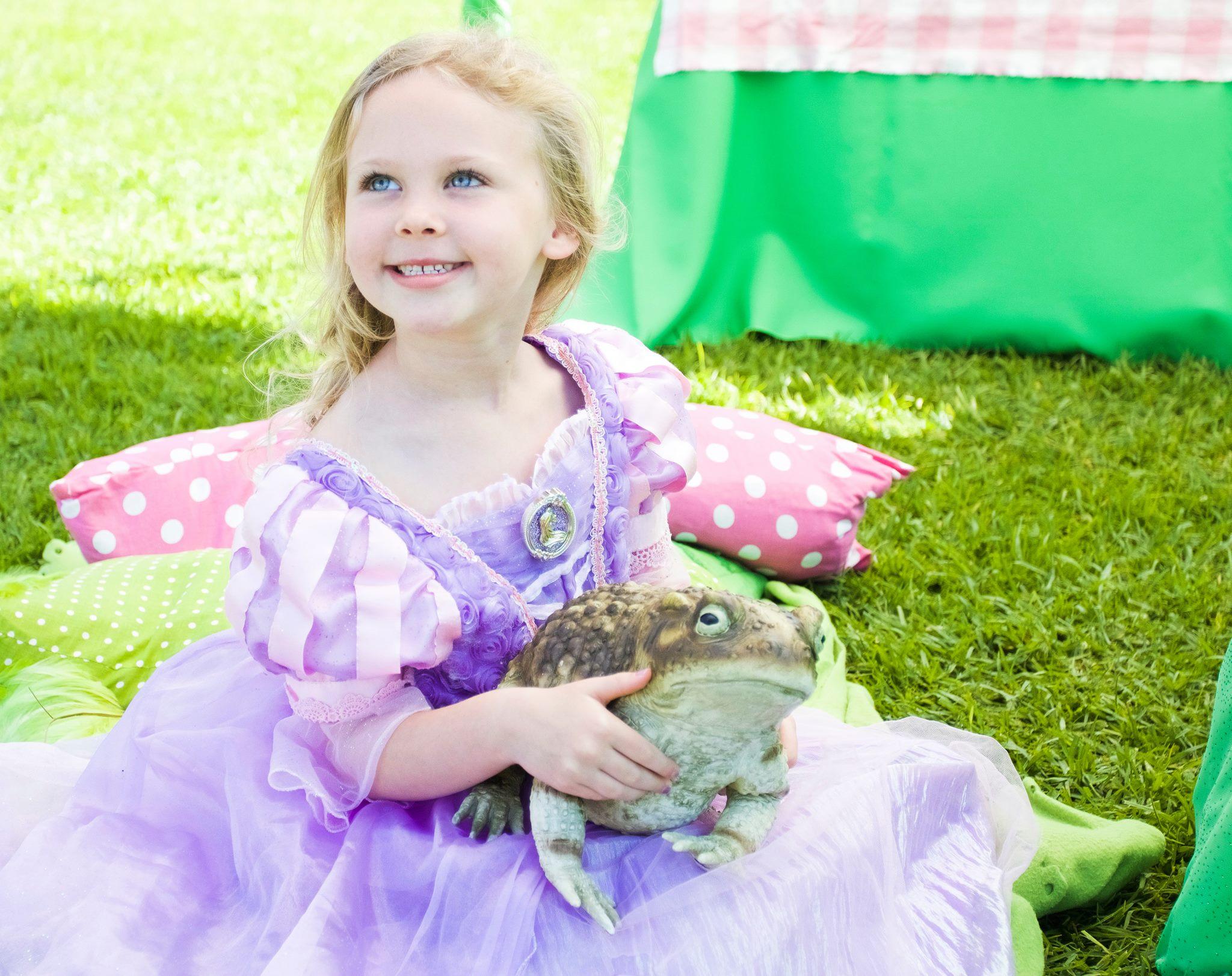 Princess Weekend at the Santa Barbara Zoo