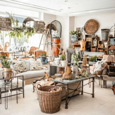 Santa Barbara Home Decor Vintage Pop Up Shop