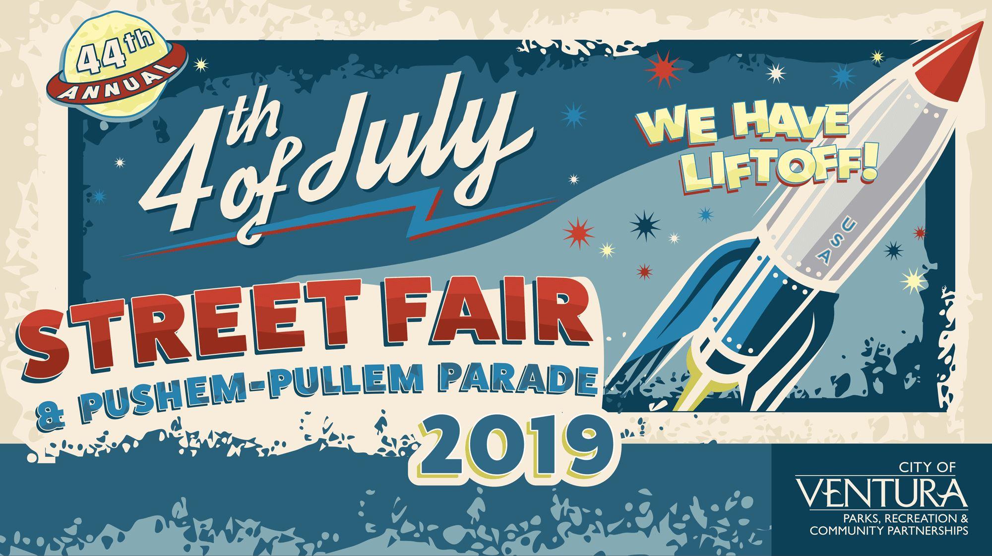 Ventura's 4th of July Street Fair & Pushem-Pullem Parade