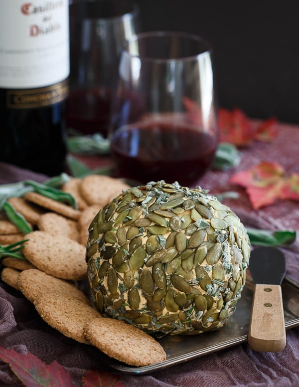 Pumpkin Herb Cheeseball