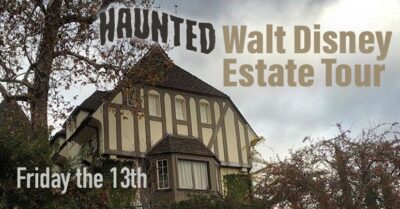 Walt Disney's Haunted Los Feliz Estate Tour