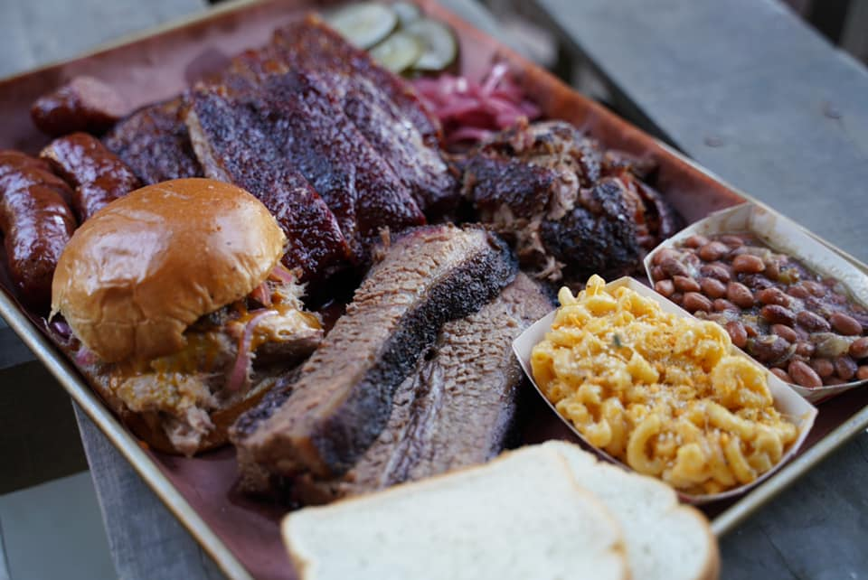 The Butcher Block BBQ Pop up