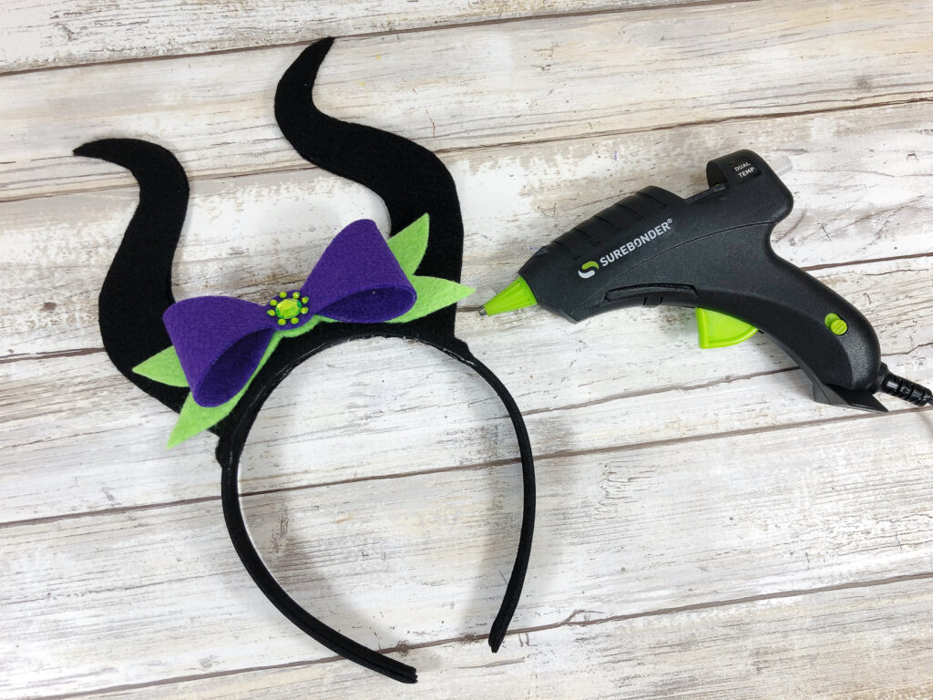Maleficent Felt Headband + Disney Books Heart of the Moors Giveaway