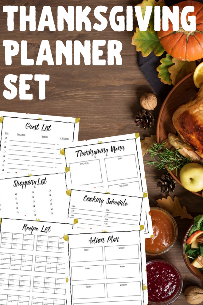 This year, make sure you don't forget any of the favorite dishes, or more importantly when to cook them, with this free printable Thanksgiving dinner planner. This is the essential organizer for hosting the ultimate Thanksgiving dinner party.