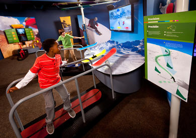 MathAlive! at the California Science Center