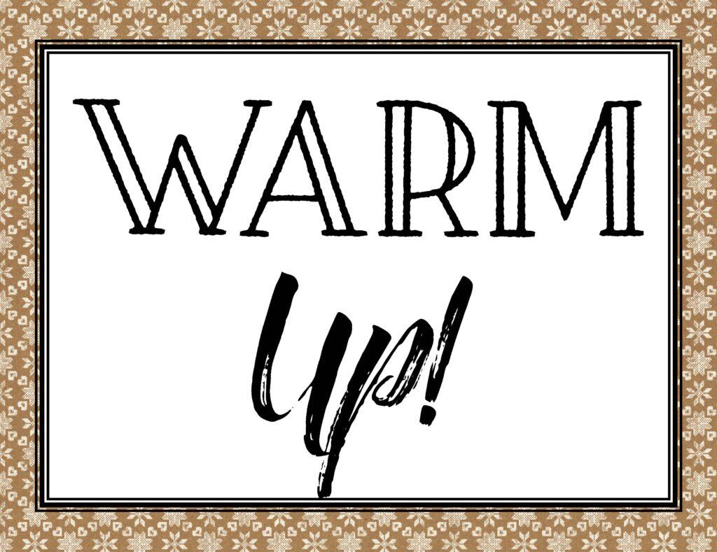Free Printable Hot Chocolate Bar Kit