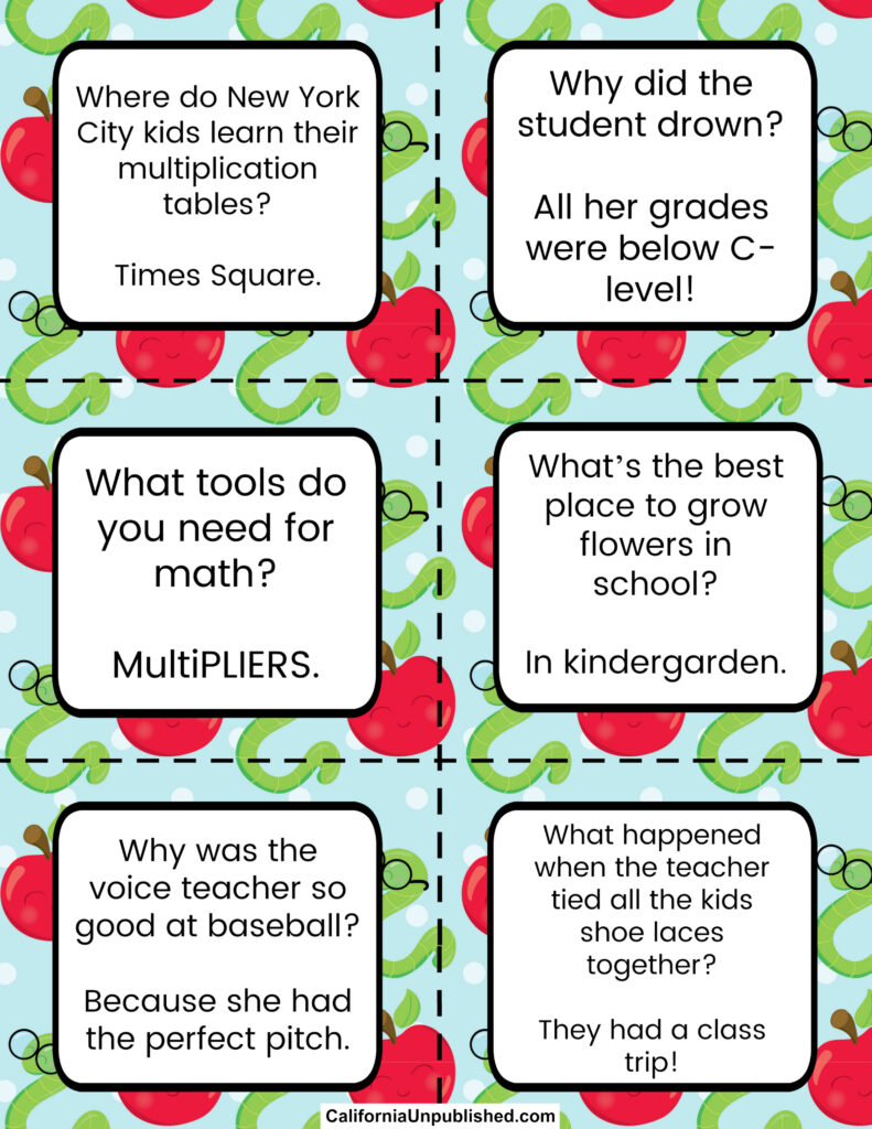 Free Printable School Lunch Notes