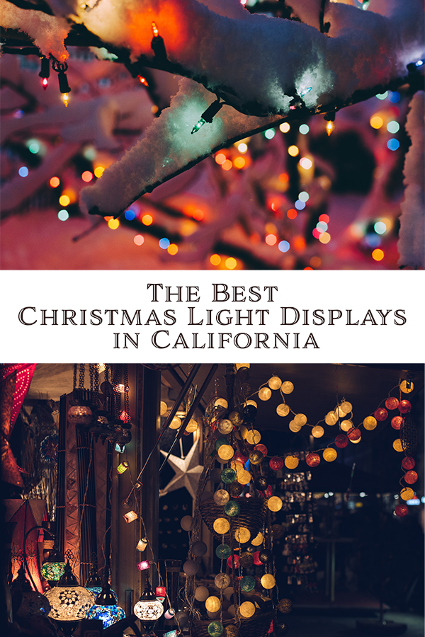 From Northern California to Southern California we've compiled our list of the best, and our favorite, Christmas light displays in California.