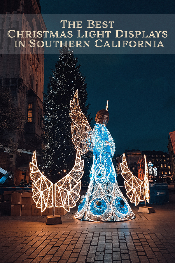 If you're looking for a little extra cheer this holiday season, check out one (or all) of our top 12 best Christmas light displays in Southern California.