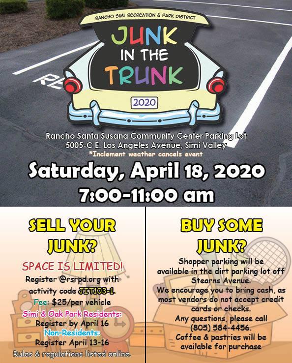 Junk in the Trunk Sale