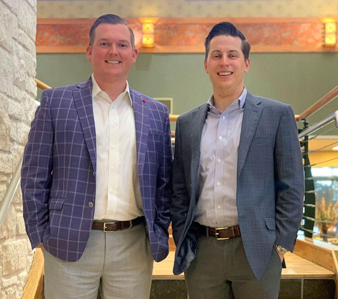 Matt Murray and Scott Whitaker