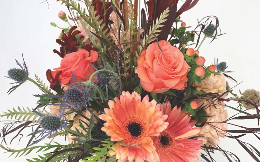 Fall Gather Collection – an arrangement using rich tones