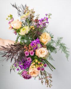 Elongated Wedding Bouquet